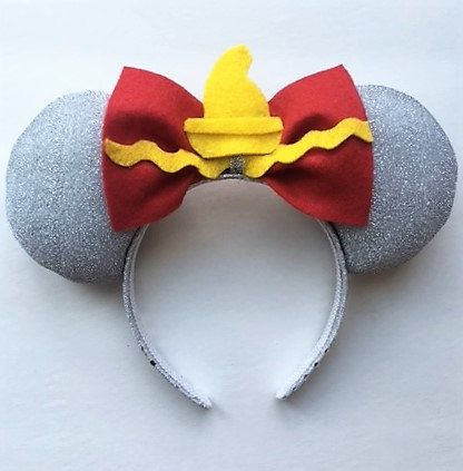 hair clips Disney hat Disney ears Disney Micky ears Dumbo Inspired Mickey Mouse Ears Disney Dumbo Micky mouse ears Headband