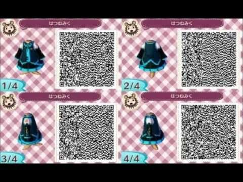 Animal Crossing Anime Qr Codes Google Search Animal Crossing