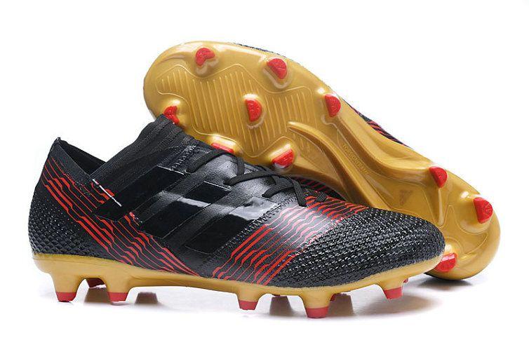 the latest 1192b 53ef1 Mens Adidas Nemeziz 17+ 360Agility Skystalker Pack Boots Core Black Solar  Red Tactile Gold Metallic