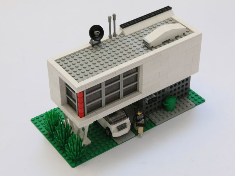 Moc Modern Town House Lego Town Lego House Lego Modular Lego
