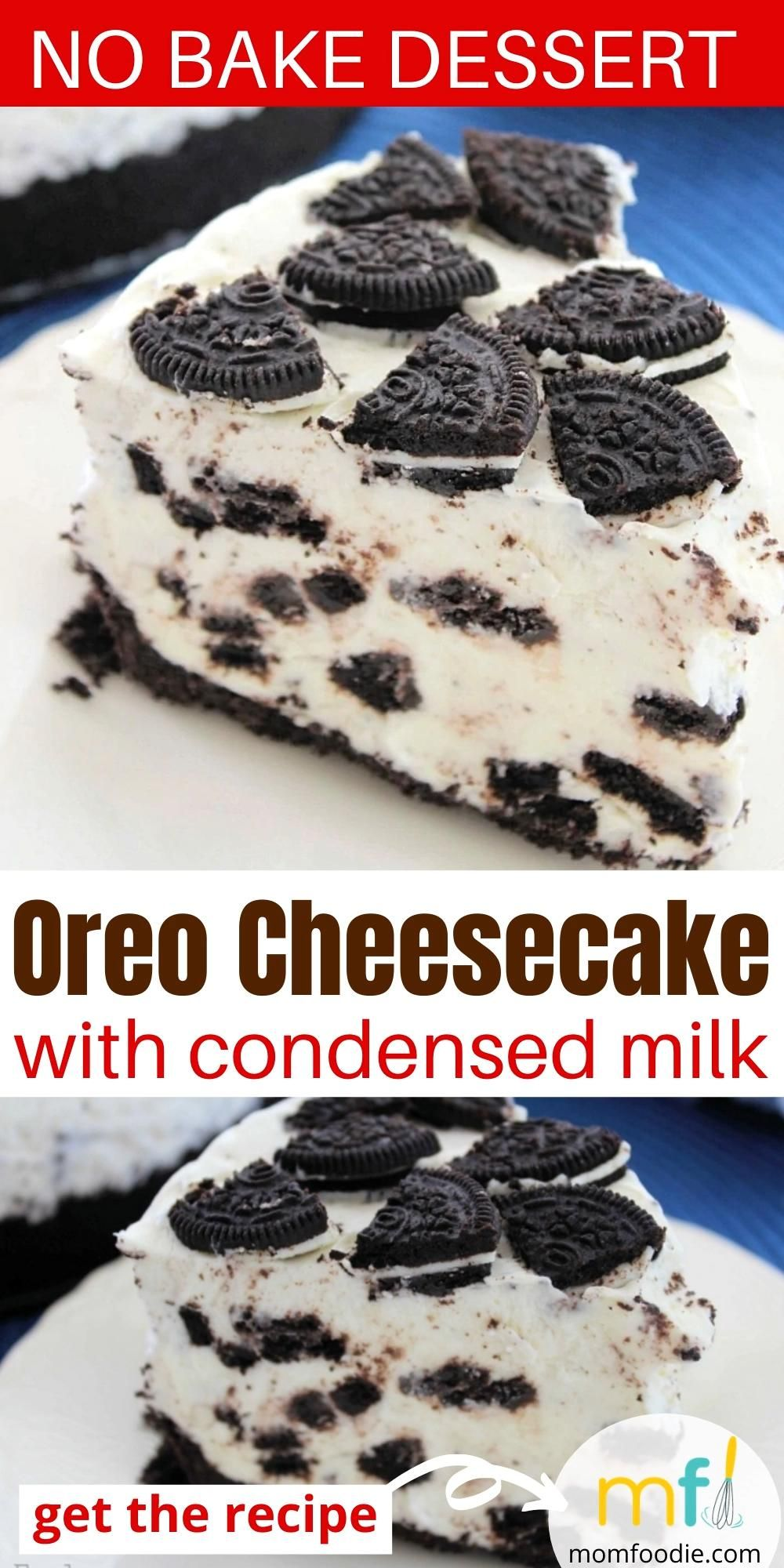Oreo Cheesecake Recipe With Condensed Milk Video In 2020 Cheesecake Recipes No Bake Desserts Oreo Cheesecake Recipes