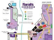 Cherokee Casino Map | Hayesville, NC in 2019 | Travel, Cherokee nc