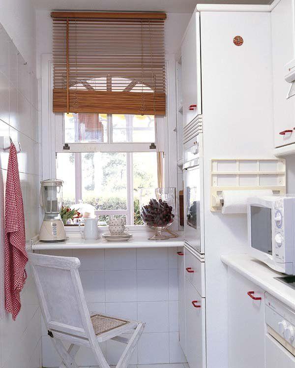 Cocinas con office mini | idea reciclada | Cocinas, Cocinas pequeñas ...