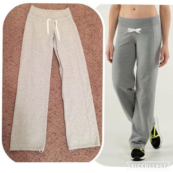 1a5570b007 Sz 4 Calm and Cozy lulu sweatpants Size 4 Calm and Cozy Lululemon sweatpant.  Light