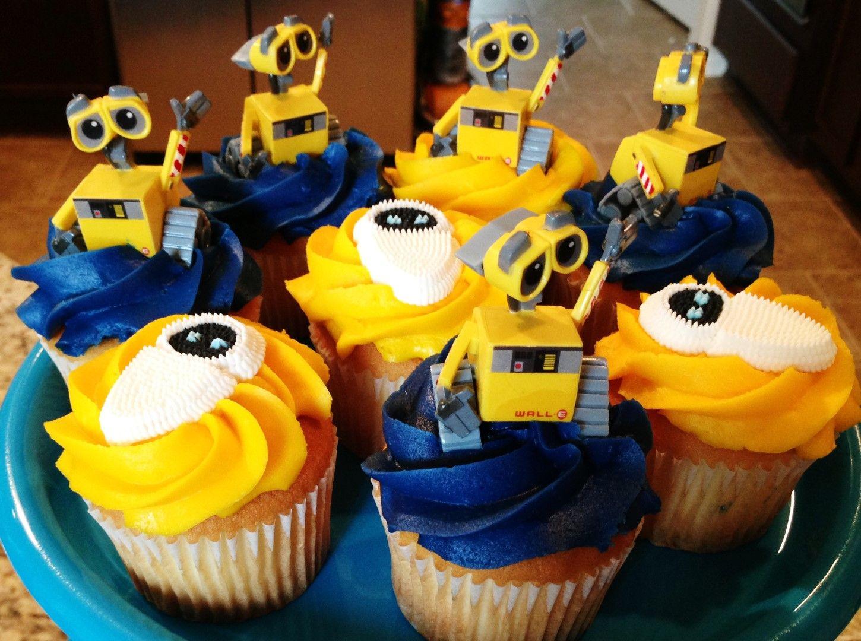 cupcake2 (Large) | Wall-e Birthday | Pinterest | Birthday ...