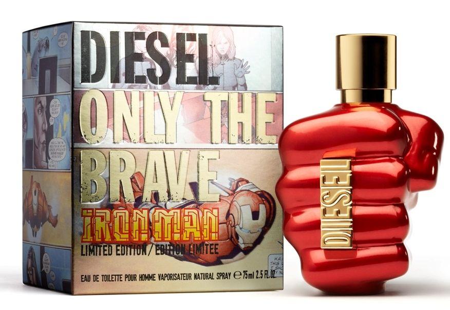 Diesel Only The Brave Fragrance Packaging Diesel Perfume