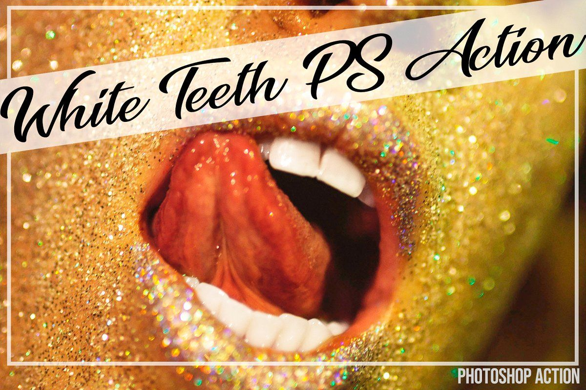 White Teeth Action by Linnea Herner on