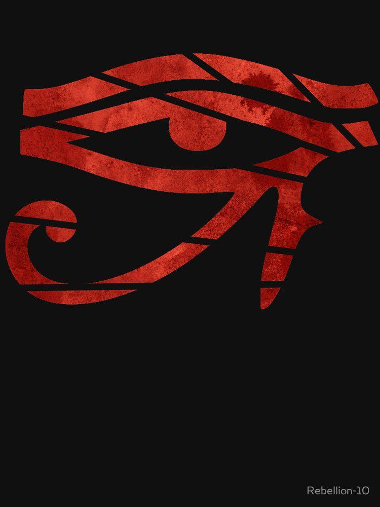 Eye Of Horus 2 Essential T Shirt By Rebellion 10 In 2021 Eye Of Horus Horus Black Sun Tattoo