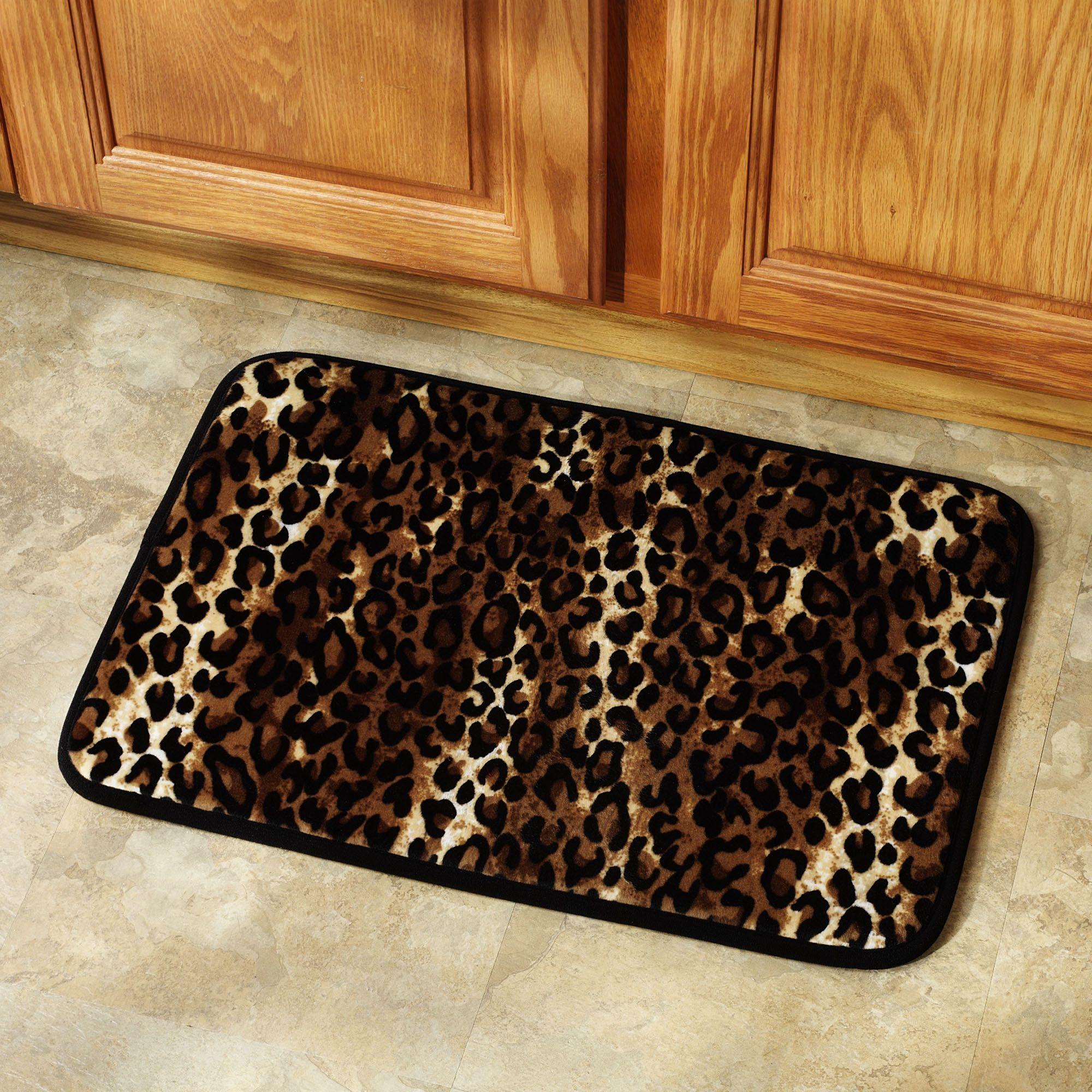Bath Leopard Print