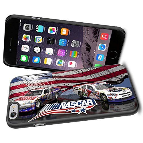 NASCAR RACING ACTION, Cool iPhone 6 Smartphone Case Cover Collector iPhone TPU Rubber Case Black Phoneaholic http://www.amazon.com/dp/B00TWH990O/ref=cm_sw_r_pi_dp_hkjnvb0Q2S815
