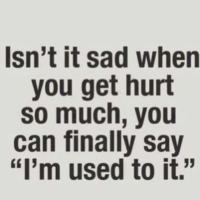 Or When You Just Start To Laugh At The Things That Used To Hurt