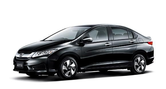 Official 2015 Honda Grace Hybrid Introduced In Japan Returns Up To 80 9 Mpg Us Hybrid Car Car Honda City