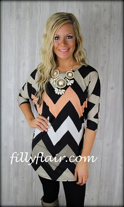 Peaches and Cream Tunic Dolman Top: Filly Flair   Totally love this top!