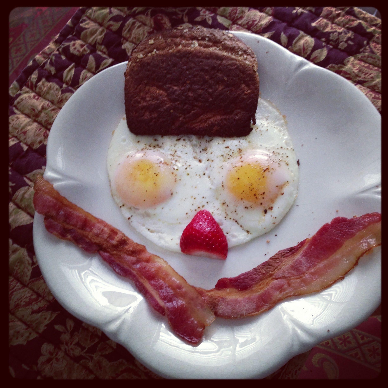 Delicious and fun breakfast