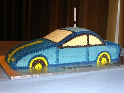 Baby car cake I made this cake for my nephew for his 3rd Birthday