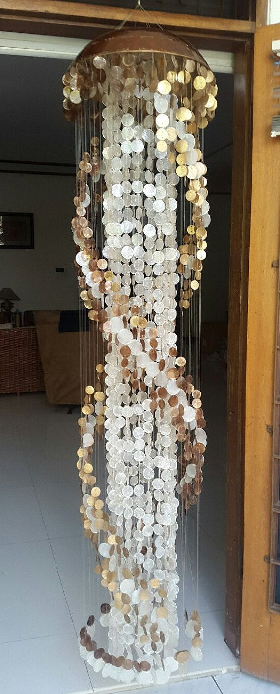 Long capiz chandelier gold spiral 78 by eastjava on etsy furniture long capiz chandelier gold spiral 78 by eastjava on etsy arubaitofo Images
