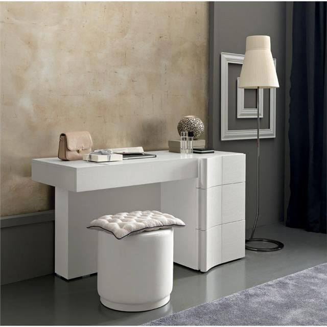 desk makeup table combo designer armonia italian