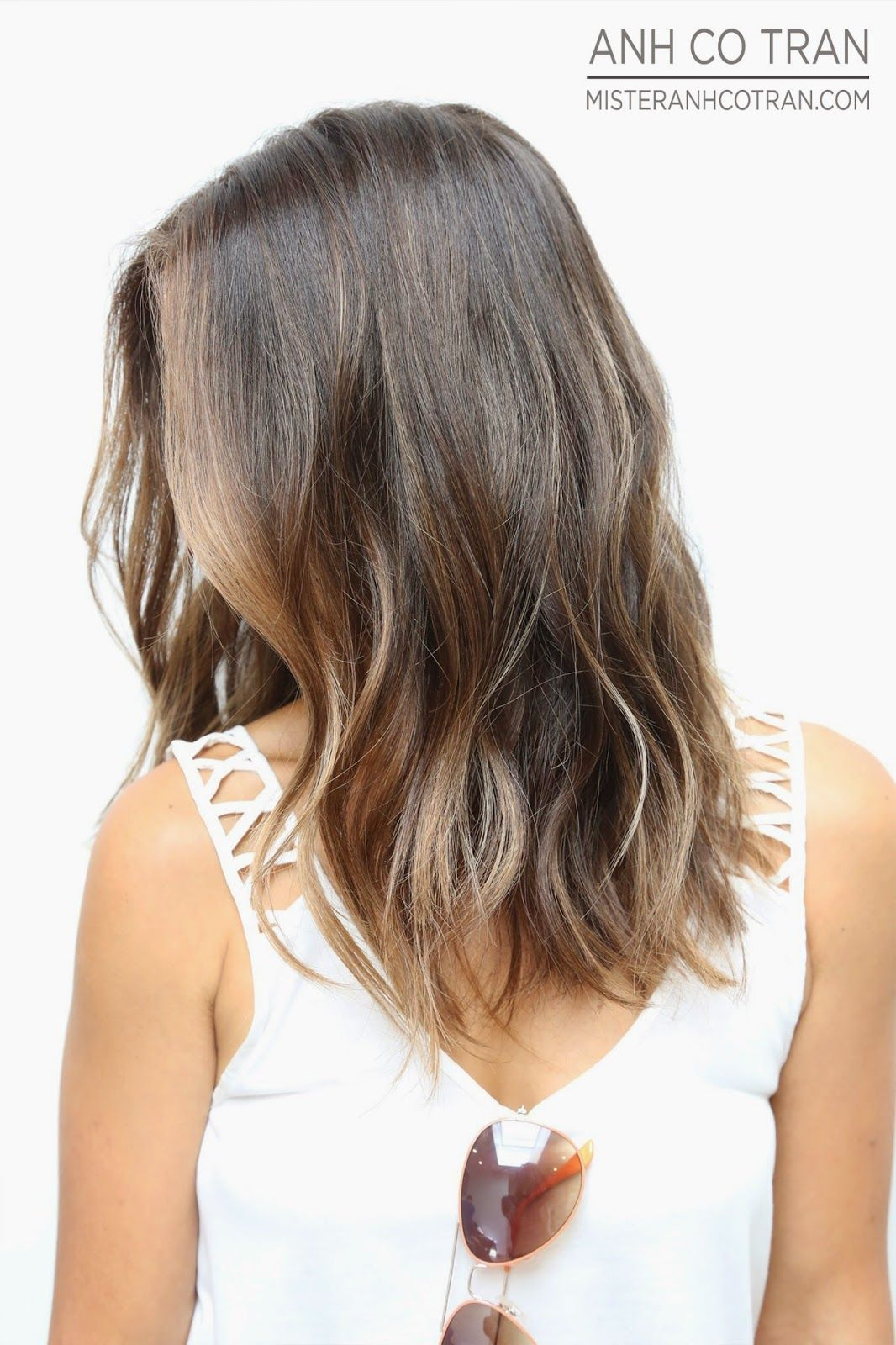 Coiffure Et Couleur Cheveux Mi-long Makeover Monday Cut Style Anh Co Tran Appointment