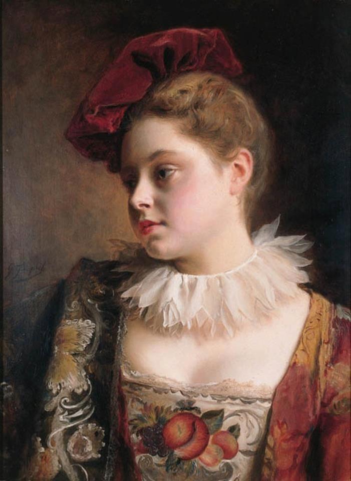 Gustave Jean Jacquet 1846 1909 Gemalde Amadeus Mozart