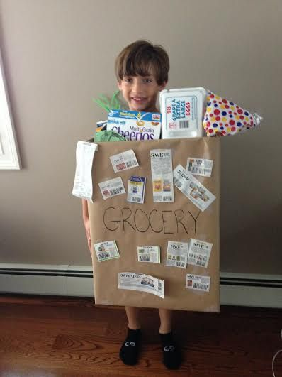 make your own out of a cardboard box - Halloween Box Costumes