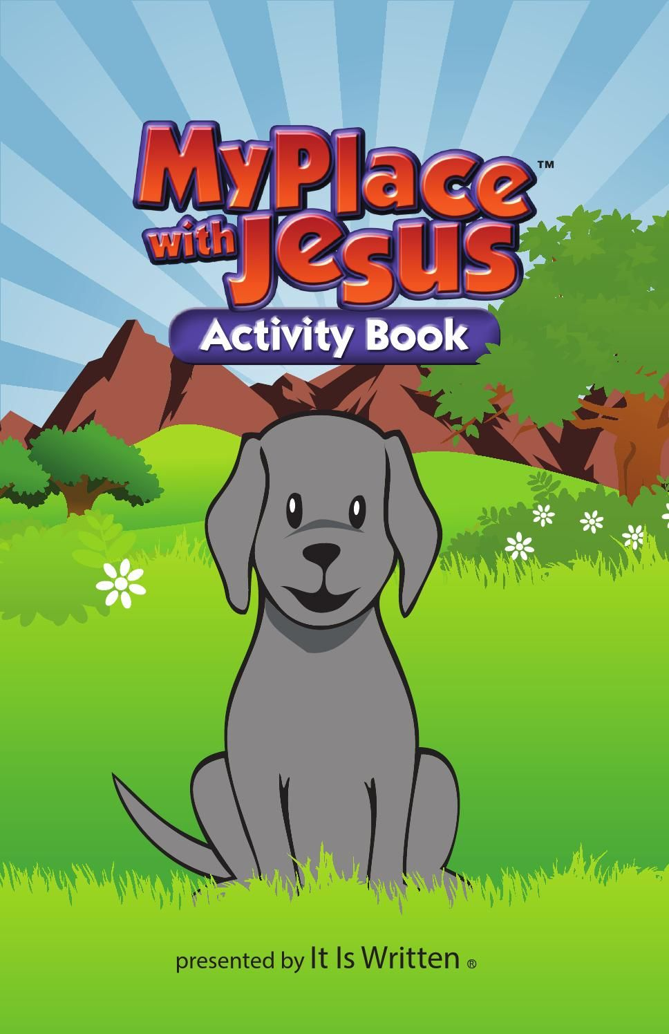 My Place With Jesus activity book | Bible