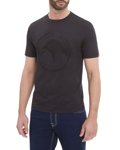STEFANO RICCI EAGLE CREWNECK T-SHIRT. #stefanoricci #cloth #