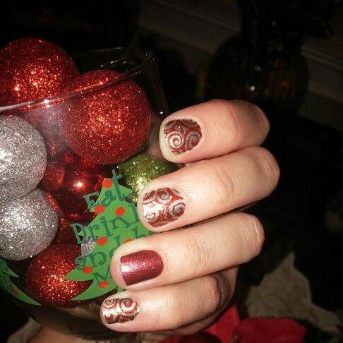 Love my new Jamicure for the holidays #novemberhostessexclusive #Cherryicesparkle   Www.falonjordan.jamberrynails.net