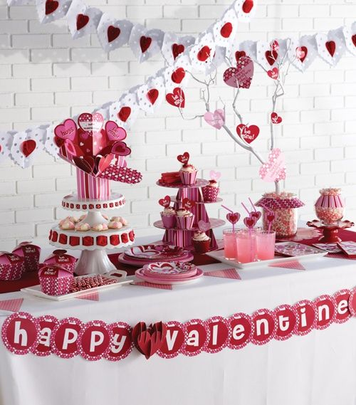 Decoration · Produce A Romantic Dinner By Utilizing Easy Valentineu0027s Day  Table ...
