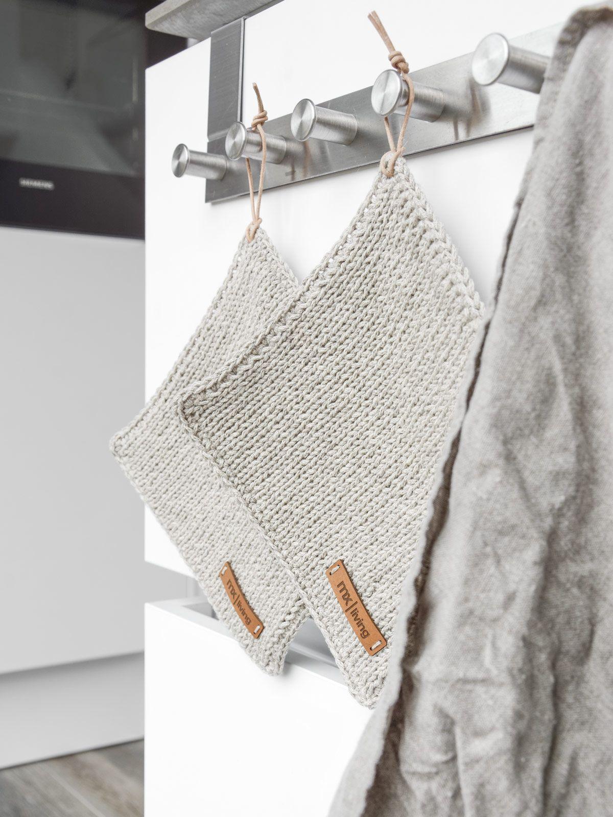 Photo of DIY | strikkede grytekluter og hvordan strikke vakre kantmasker – mxliving