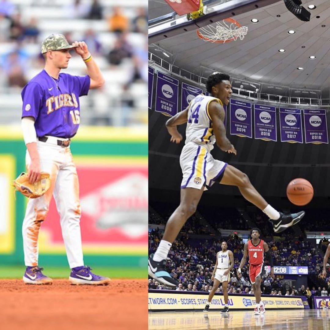 Geaux Tigahs 6 5k On Instagram Lsu Weekend Highlights Basketball Celebrated Senior Day With A 94 64 Blowout Over Georgia S In 2020 Lsu Baseball Lsu Senior Day
