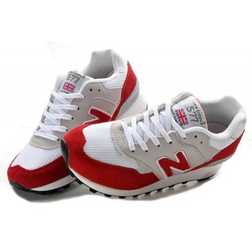 Womens Sneakers New Balance NB 577 Edition Red Grey White
