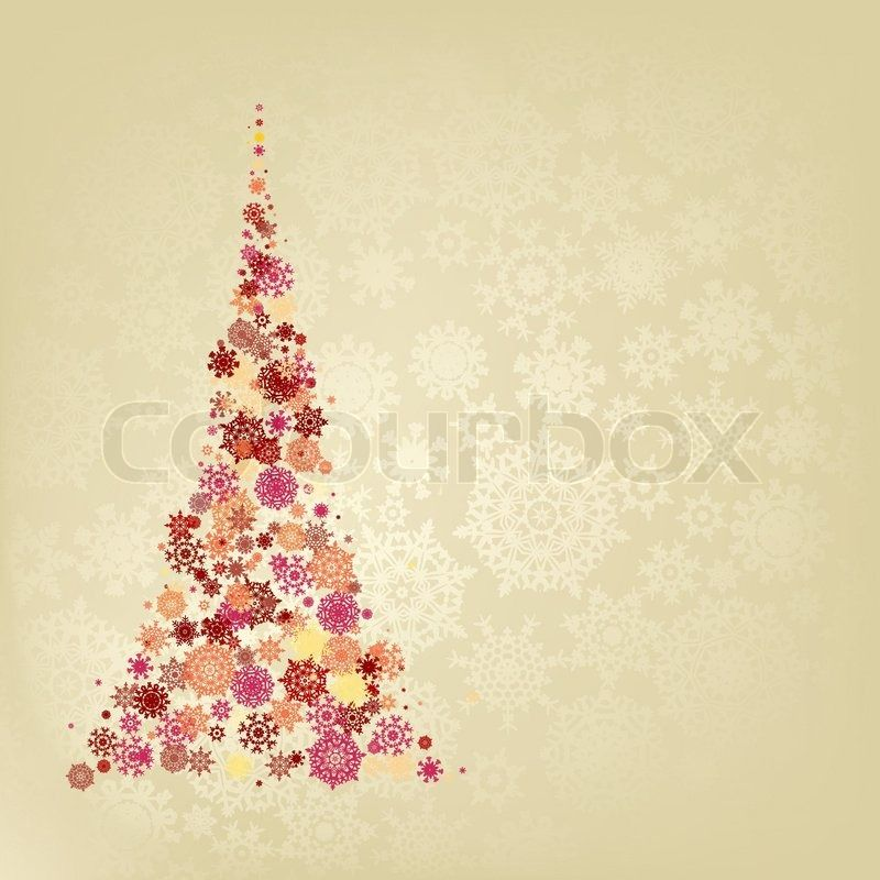 Christmas tree. EPS 8 vector file included | Vector | Colourbox on Colourbox