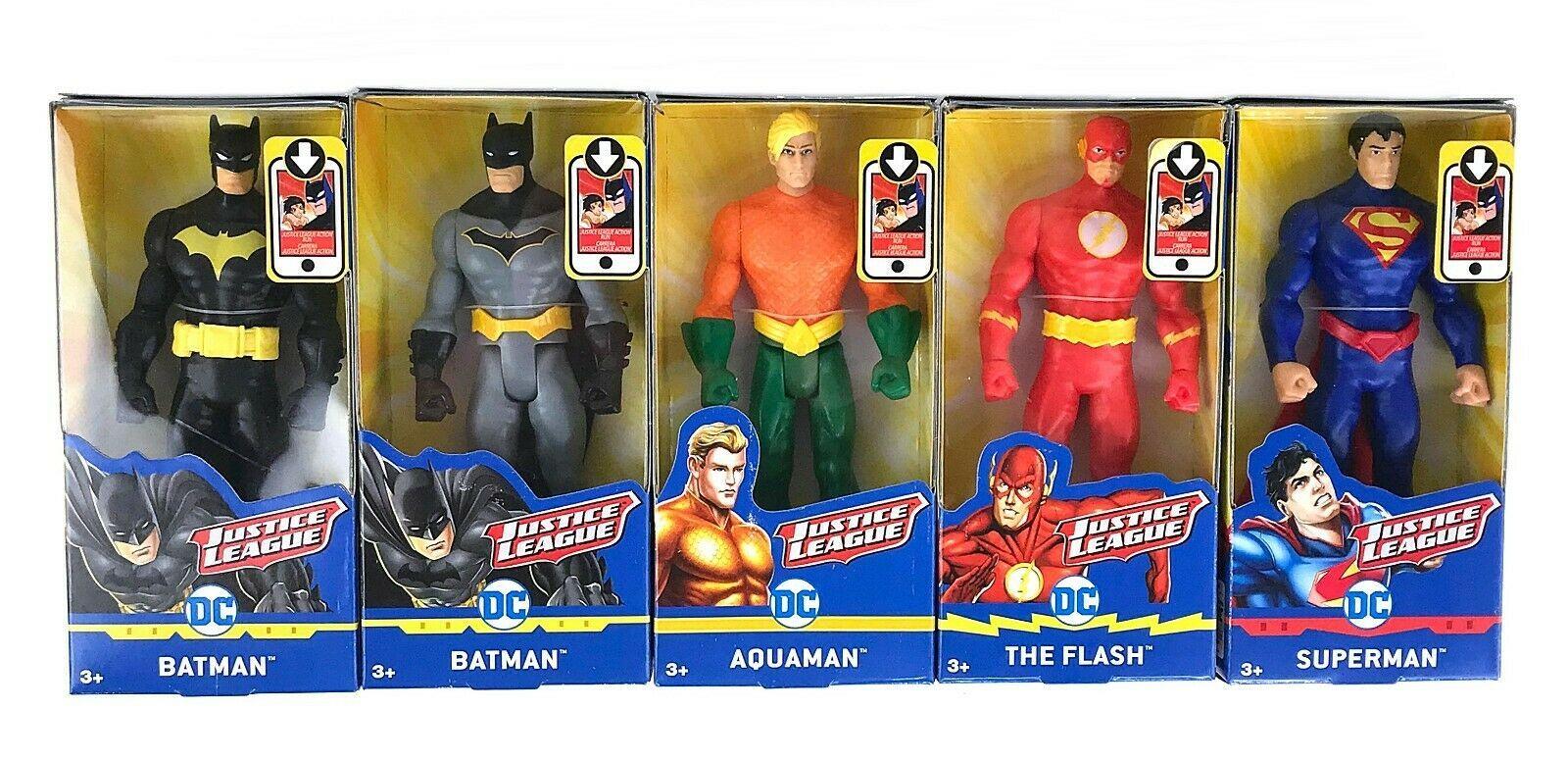 DC Comics Justice League Mattel 6in Figure Batman SupermanThe Flash Aquaman  - Ideas of Aquaman