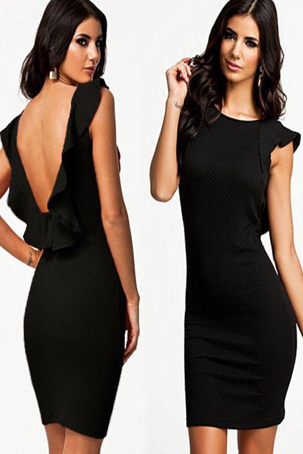 Backless Club Dresses