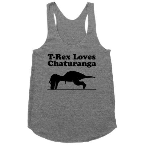 T Rex Loves Chaturanga Activate Apparel Sweatshirts Hoodie Printed Shirts Cool Shirts