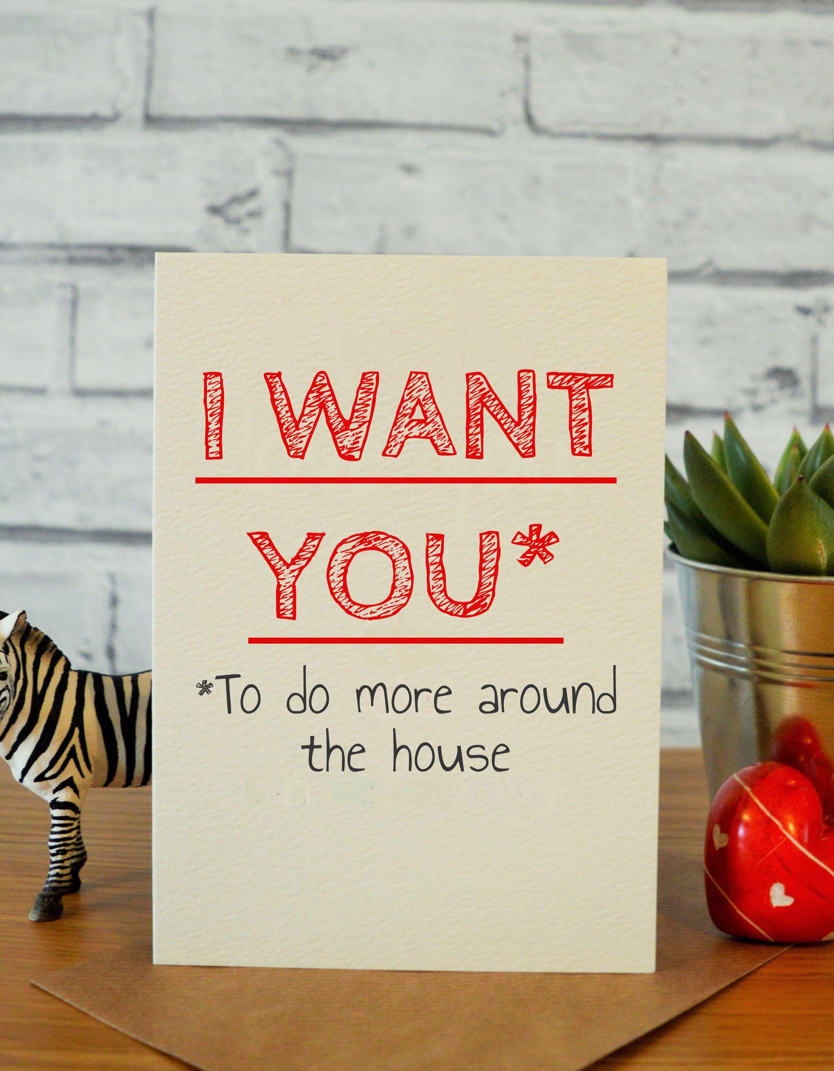 I Want You in frfr Pinterest Handmade anniversary