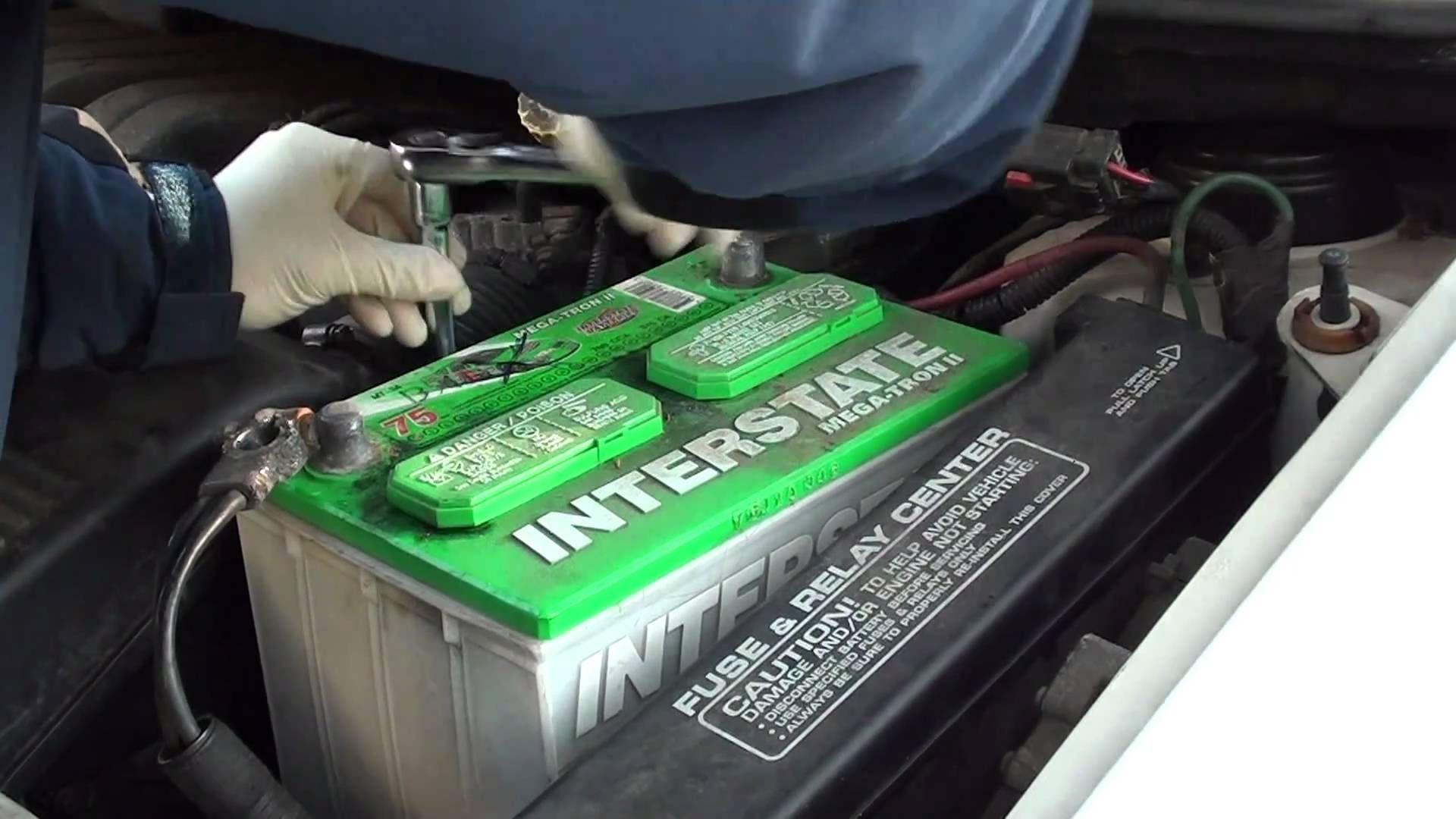 How to Replace a Car Battery Car battery, Car, Repair