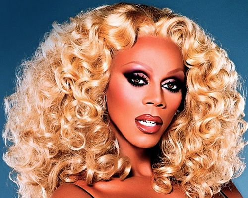 Ru Paul is very flamboyant & i think my writing is also :)