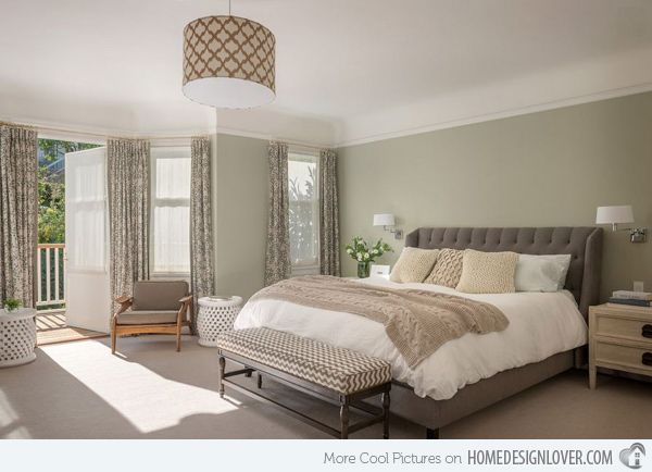 20 master bedroom colors | ideas for the house | bedroom green