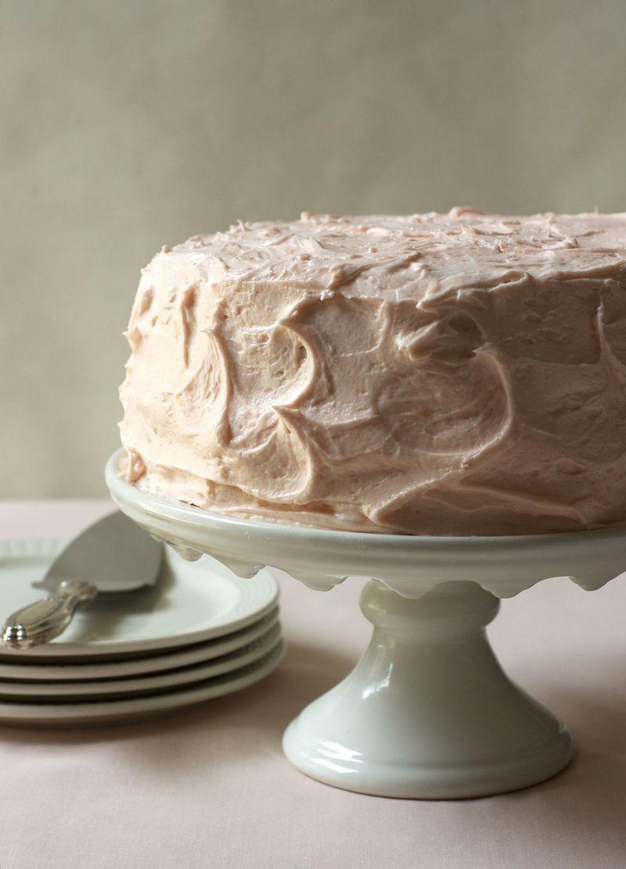 Pink Grapefruit Layer Cake