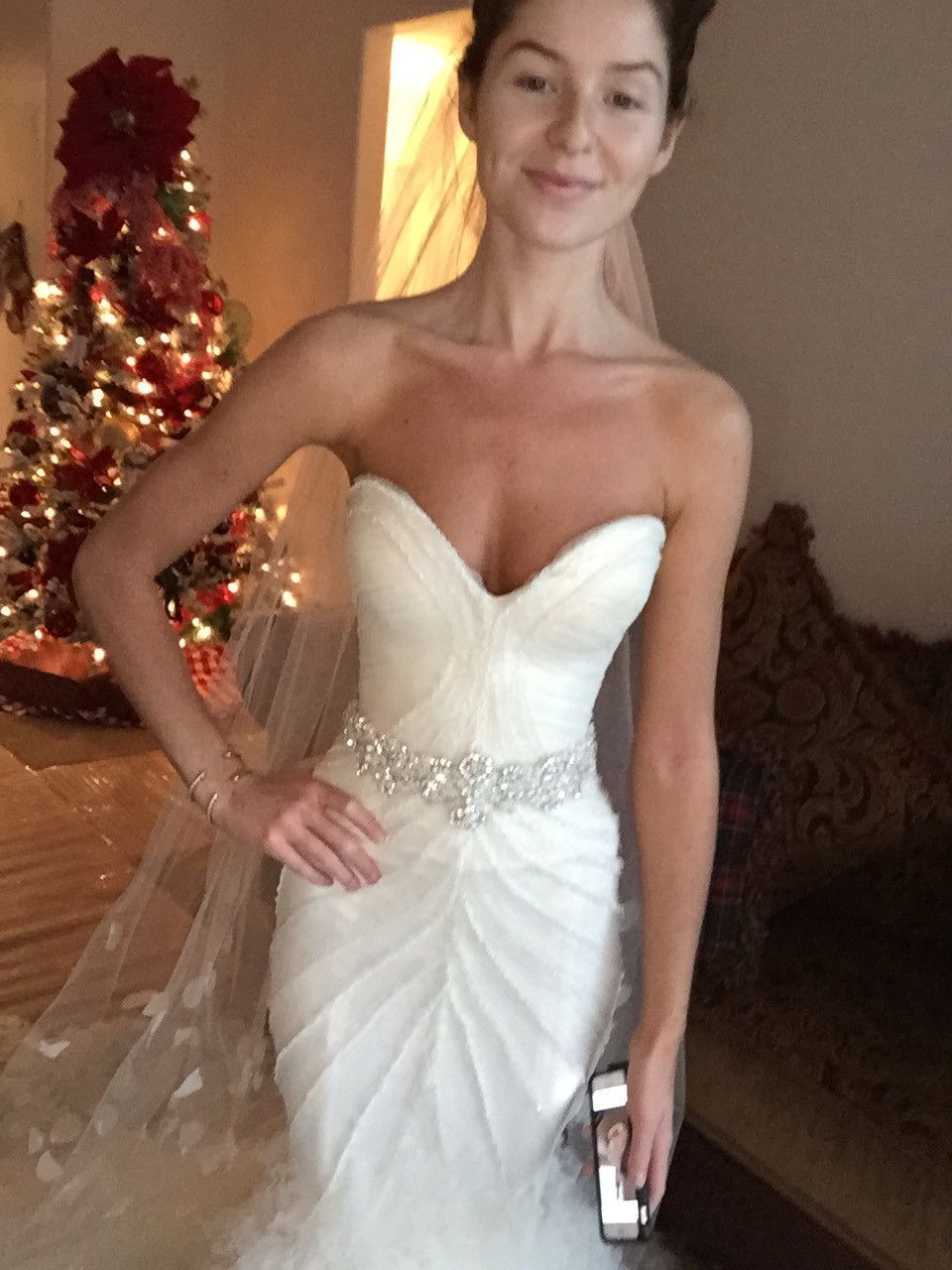 Mark zunino wedding dresses  Mark Zunino uSweetheart Mermaidu  Mark zunino Mermaid gown and
