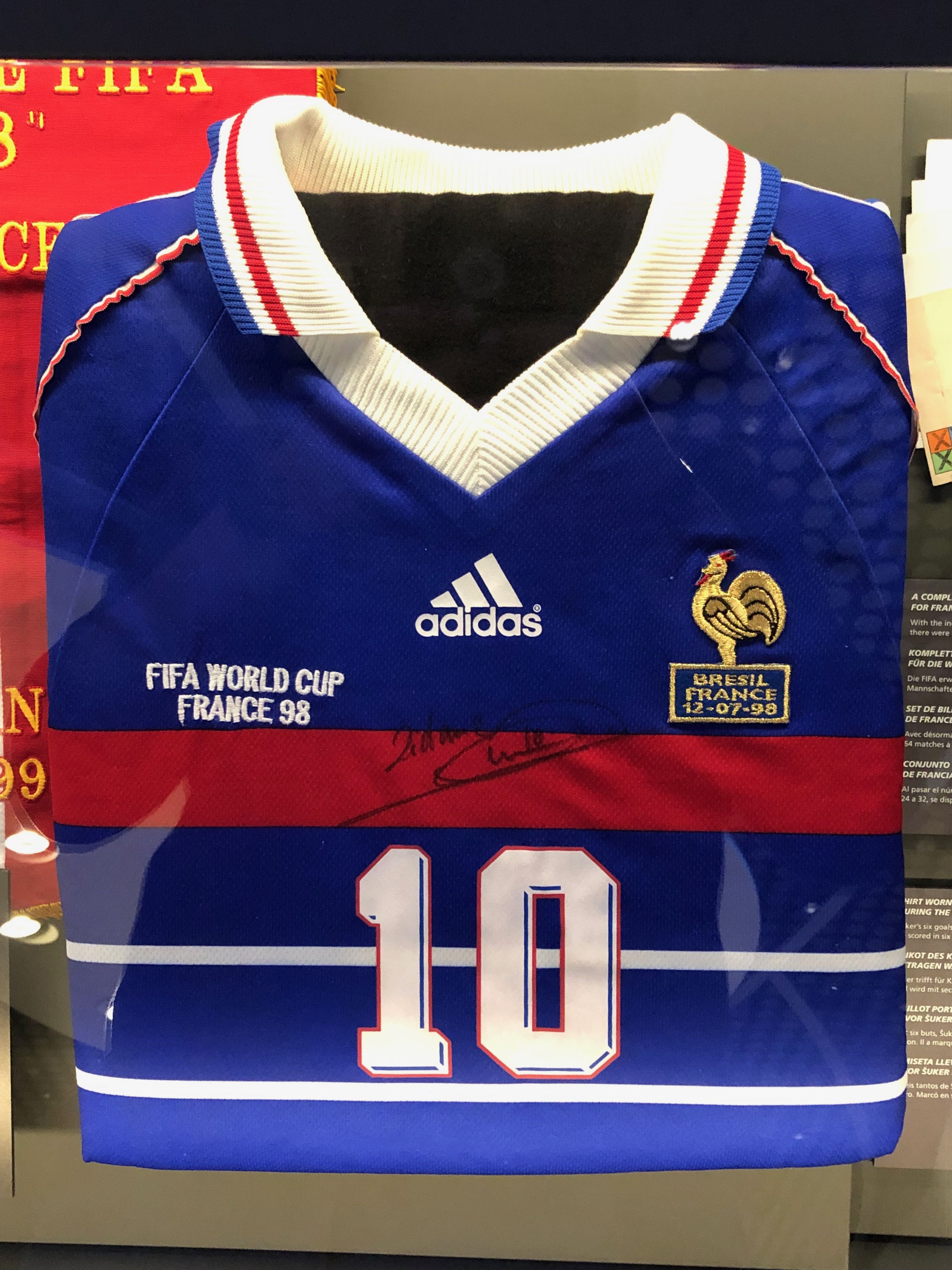 Zidane Jersey Fifa World Cup 1998 Fifa World Cup Fifa World Cup