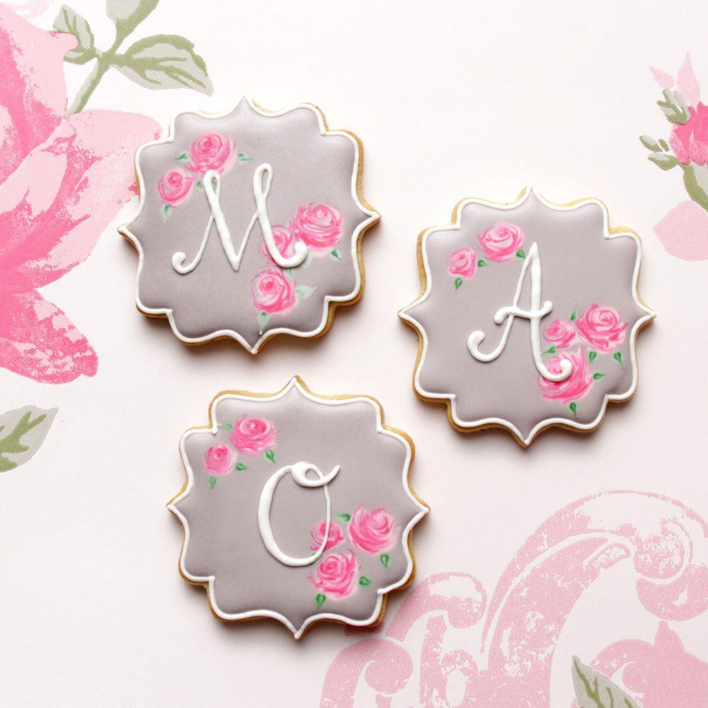 Pin on Cookies Monogram