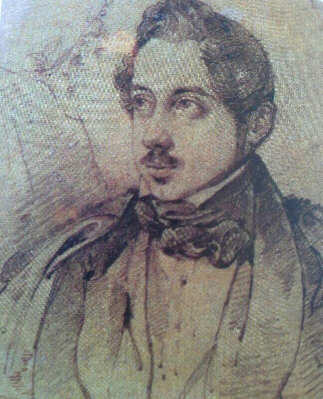 Mariano José De Larra Por José Madrazo Art Fortuny Painting