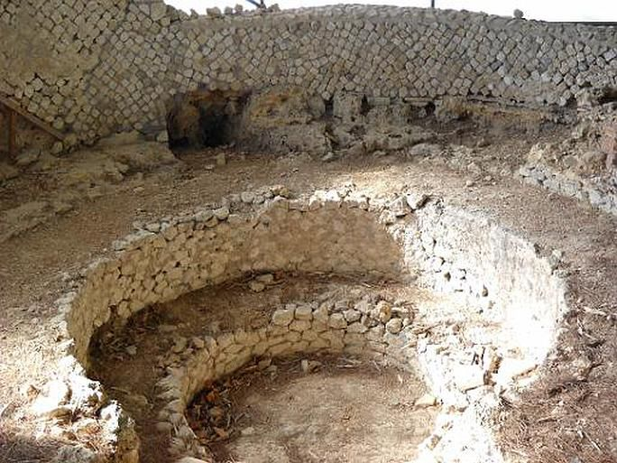 Ancient Roman laconicum from the town of Civitavecchia - Laconicum was a particular room of the Roman bath complex that operated pretty much like a steambath in the modern SPAs. It was used for heat sessions where people experienced excessive sweating as a way of detoxification of their bodies.