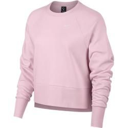 Photo of Nike Women's Sweatshirt, Size Xl In Pink Foam / white, Size Xl In Pink Foam / white Nike