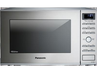 Panasonic Nn Sd681s 1 2 Cu Ft Countertop Built In Microwave