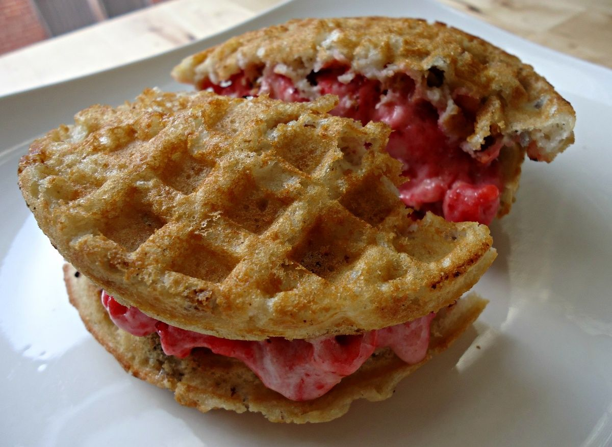 how to make vegan waffles without a waffle maker
