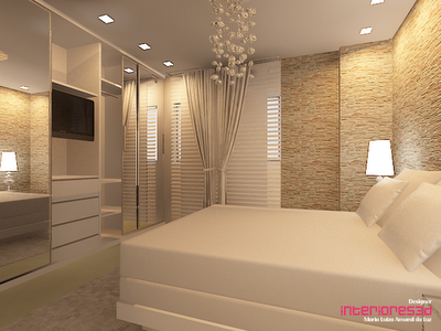 Quartos de casal decora o leve e sofisticada modelos - Reforma piso pequeno ...
