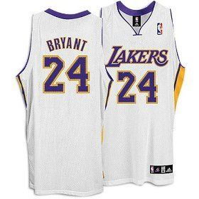39afe972efad Adidas Los Angeles Lakers Kobe Bryant Authentic Alternate Jersey ...